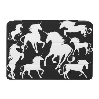 set of unicorns iPad mini cover