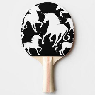 set of unicorns ping pong paddle