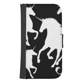 set of unicorns samsung s4 wallet case