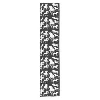 set of unicorns short table runner