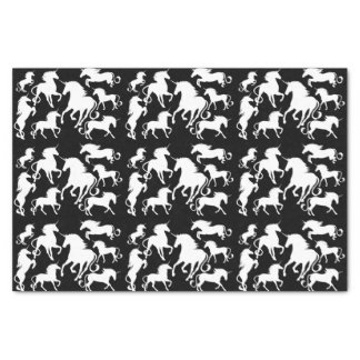 set of unicorns tissue paper