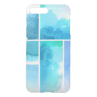 Set of watercolor abstract hand painted 2 iPhone 8 plus/7 plus case