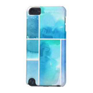 Set of watercolor abstract hand painted 2 iPod touch (5th generation) cover