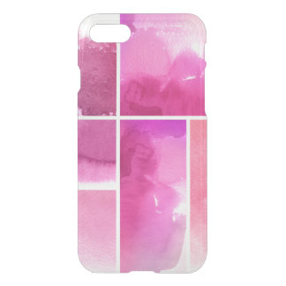 Set of watercolor abstract hand painted 3 iPhone 8/7 case