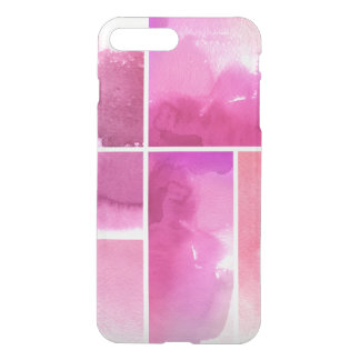 Set of watercolor abstract hand painted 3 iPhone 8 plus/7 plus case