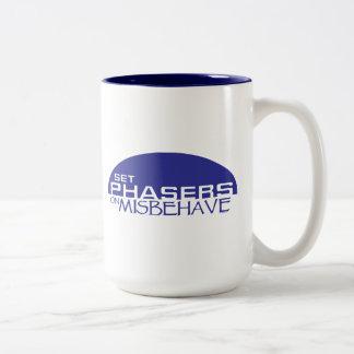 Set phasers on misbehave mugs