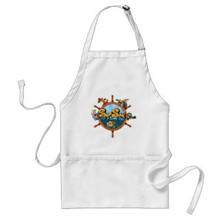 Set sail for a funny tale adult apron