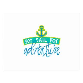 Set Sail For Adventure Postcard