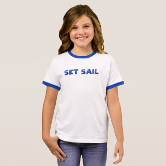 Set Sail Ringer T-Shirt