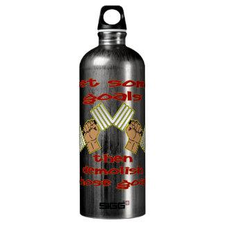 Set Some Goals Then Demolish Those Goals BodyBuild SIGG Traveller 1.0L Water Bottle