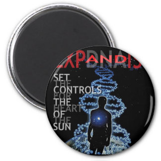 Set The Controls For The Heart Of The Sun 6 Cm Round Magnet