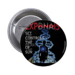Set The Controls For The Heart Of The Sun Pinback Button