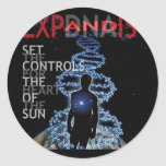 Set The Controls For The Heart Of The Sun Sticker