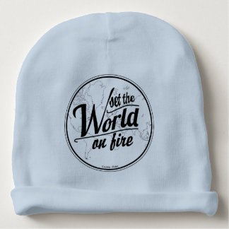 Set the World on Fire Baby Boy Baby Beanie