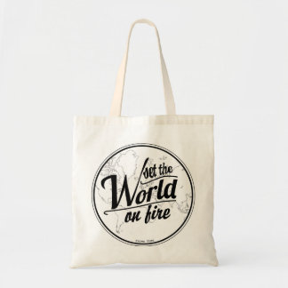 Set the World on Fire Tote