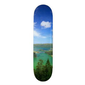 Sete Cidades - Azores 18.1 Cm Old School Skateboard Deck