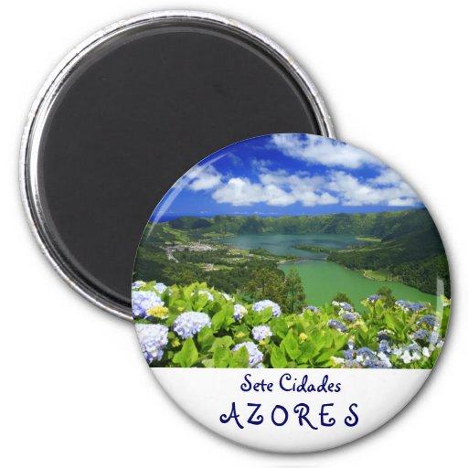 Sete Cidades, Azores Fridge Magnet