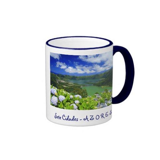 Sete Cidades, Azores Coffee Mugs