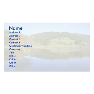 Sete Cidades lakes in Azores Pack Of Standard Business Cards