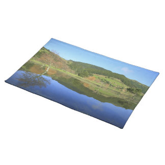 Sete Cidades lakes in Azores Placemat