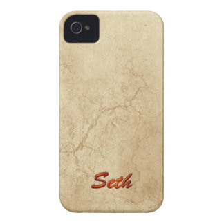 SETH Name Personalised Cell Phone Case Blackberry Bold Cases