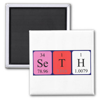 Seth periodic table name magnet