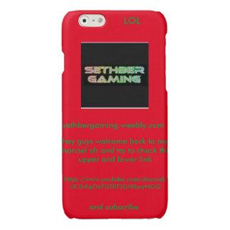 SethberGaming iphone 6'6s case iPhone 6 Plus Case