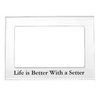 Setter Love Magnetic Frame