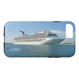 Setting Sail Monogrammed iPhone 7 Case