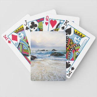 Setting Sun And Rising Tide Bicycle Playing Cards