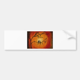 Setting Sun Bumper Stickers