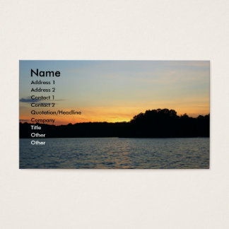 Setting Sun Business Card