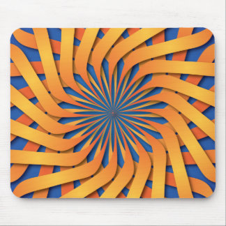 Setting sun pattern mouse pad