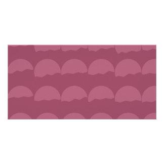 Setting Suns - Simple Pattern Photo Card