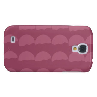 Setting Suns - Simple Pink Pattern Samsung Galaxy S4 Covers