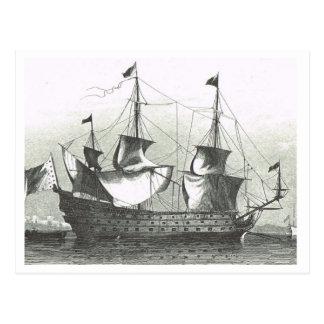 Setting the sails1800s postcard