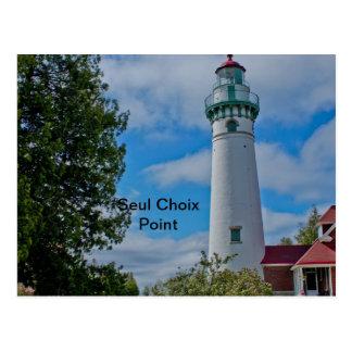 Seul Choix Point Lighthouse Postcard