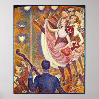 Seurat Le Chahut Poster
