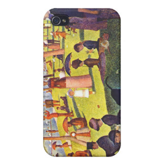 Seurat - sunday on la grande je painting iPhone 4/4S cover
