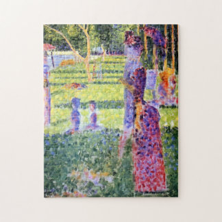 Seurat: The Couple Jigsaw Puzzles
