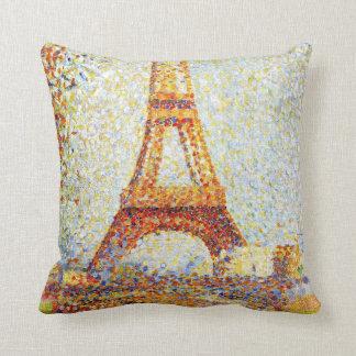 Seurat: The Eiffel Tower Cushion