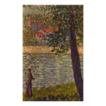 Seurat: The Morning Walk (The Seine at Courbevoie)