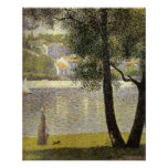 "Seurat's ""La Seine a Courbevoie"""