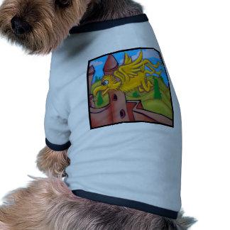 seusslike fling bird dog tshirt