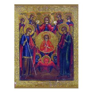 Seven Archangels Postcard