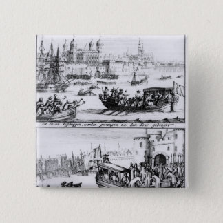 Seven Bishops Go to the Tower, 1688 15 Cm Square Badge