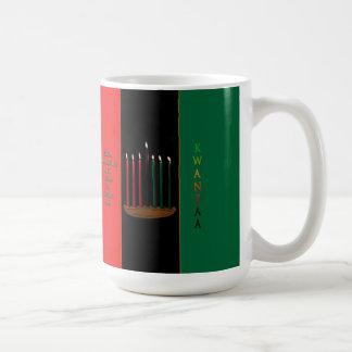 Seven Candles Kwanzaa Mug