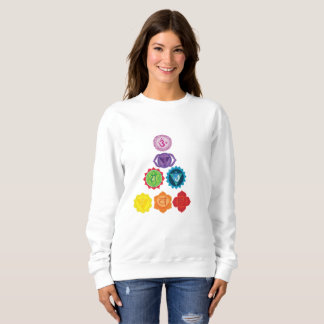 Seven Chakra Yoga Women's Basic Sweatshirt