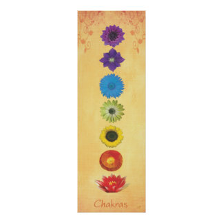Seven Chakras Banner Posters