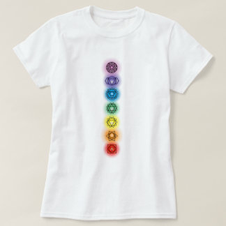 Seven Chakras Ladies Baby Doll T-shirt